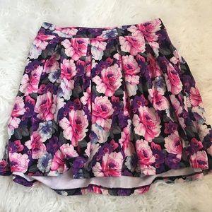 Bright Flower Skirt